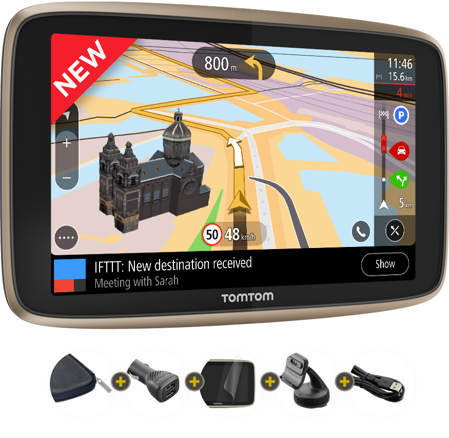 Tomtom Important Information About Your Device